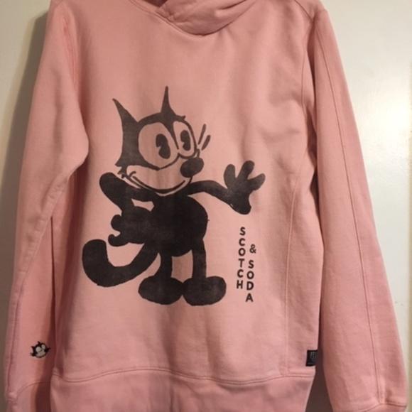 Scotch /& Soda Mens AMS Felix The Cat Artwork Sweatshirt